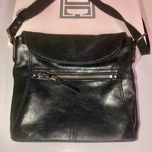 The Sak Leather Happy & Free Flap over Crossbody